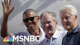 Biden, Obama, Bush And Clinton Willing To Get Covid-19 Vaccine On Camera   The Last Word   MSNBC 1