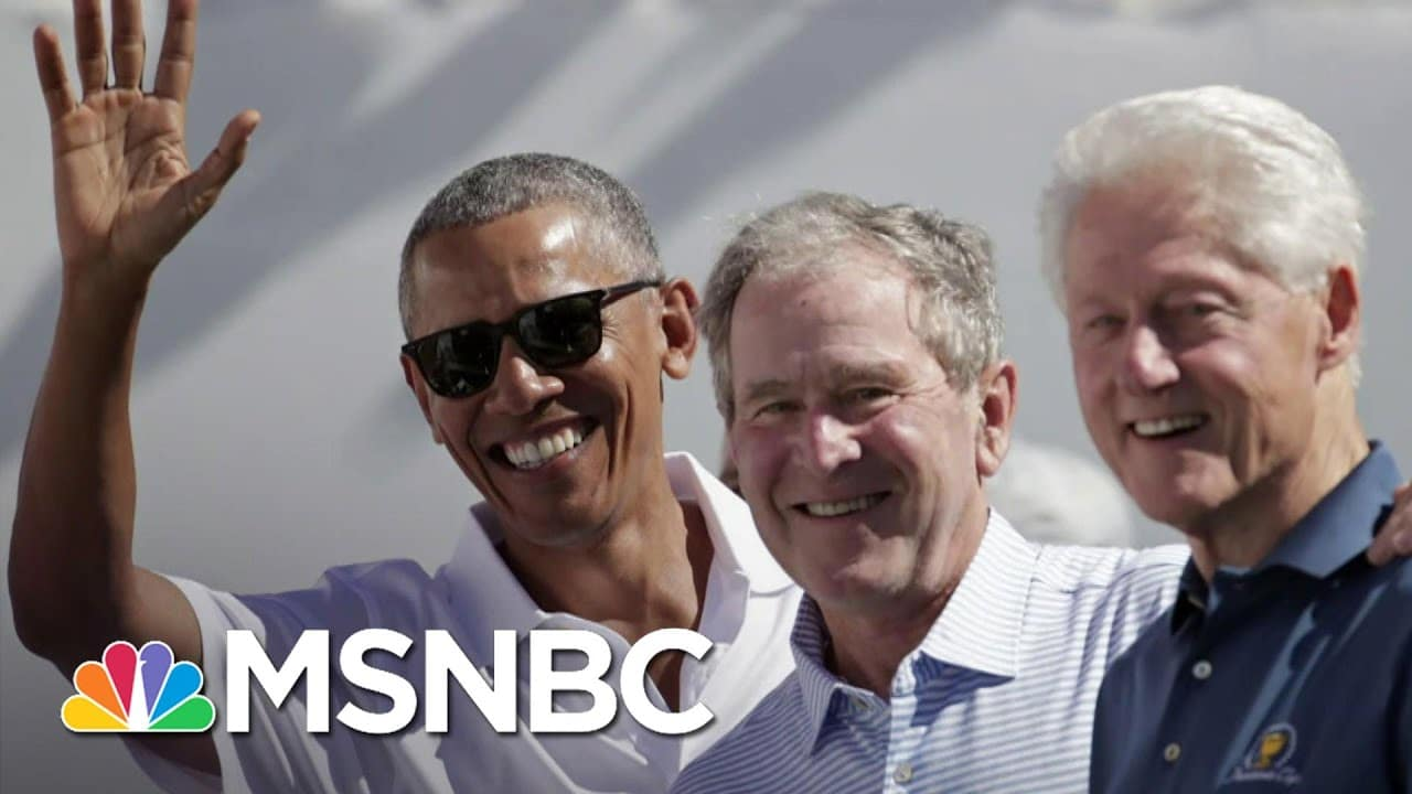 Biden, Obama, Bush And Clinton Willing To Get Covid-19 Vaccine On Camera | The Last Word | MSNBC 1