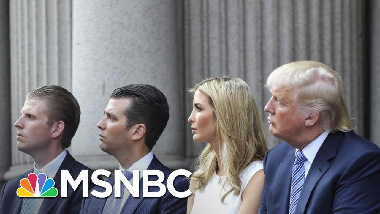 Trumps May Face A Slew Of Legal Issues After White House   The 11th Hour   MSNBC 1