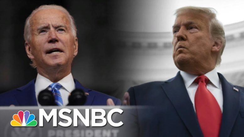 Biden Says Fauci Is Staying On As Trump Ignores Covid Crisis   The 11th Hour   MSNBC 1