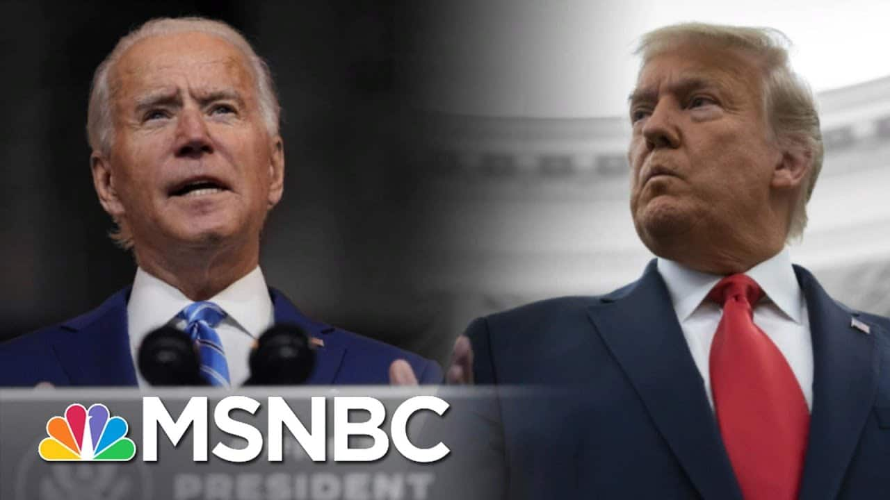 Biden Says Fauci Is Staying On As Trump Ignores Covid Crisis | The 11th Hour | MSNBC 1