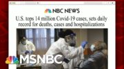 U.S. Reports Highest Single-Day Virus Death Toll | Morning Joe | MSNBC 4