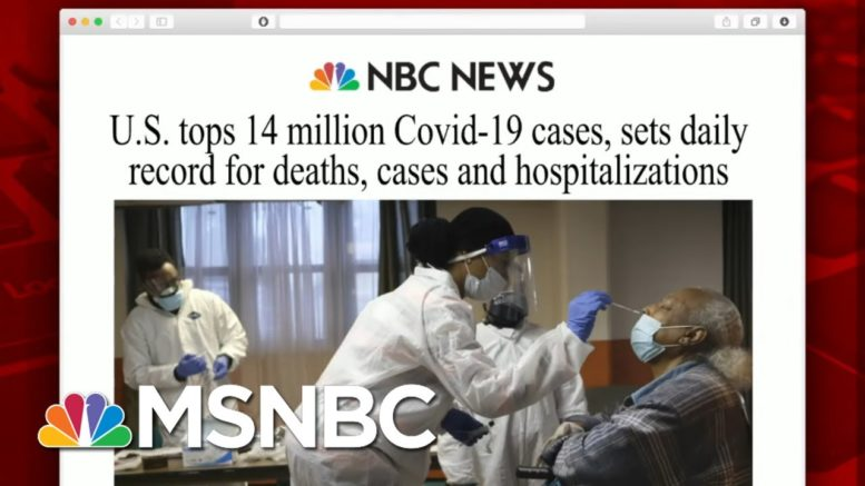 U.S. Reports Highest Single-Day Virus Death Toll | Morning Joe | MSNBC 1