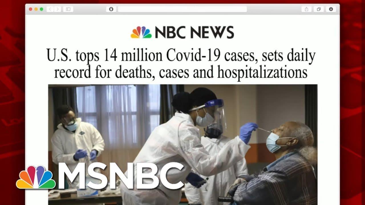 U.S. Reports Highest Single-Day Virus Death Toll | Morning Joe | MSNBC 1
