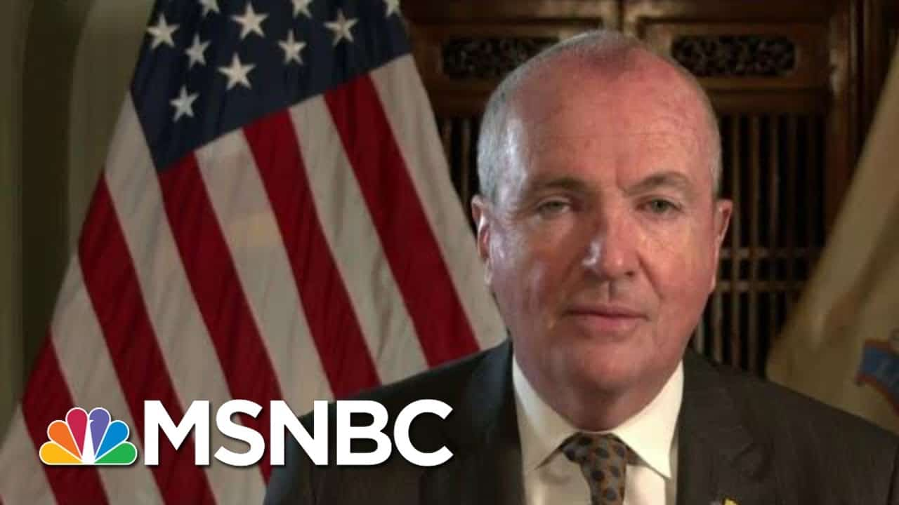 Gov. Murphy: Light At End Of Tunnel After 'Brutal' Few Months   Morning Joe   MSNBC 1