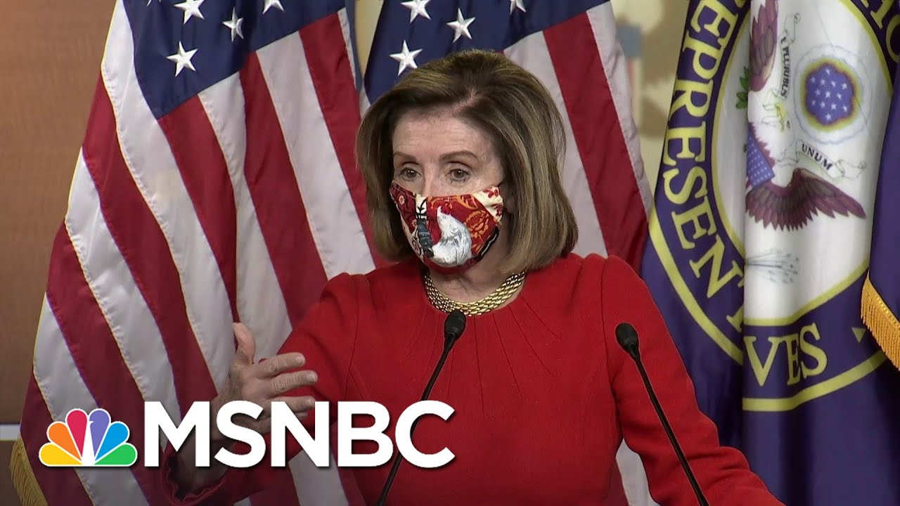 Speaker Pelosi On Covid Relief Deal Timing: 'We Cannot Leave Without It' | MSNBC 1