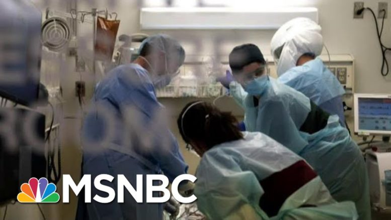 Dr. Mark Morocco As California Plans To Impose Regional Stay-At-Home Orders | MTP Daily | MSNBC 1