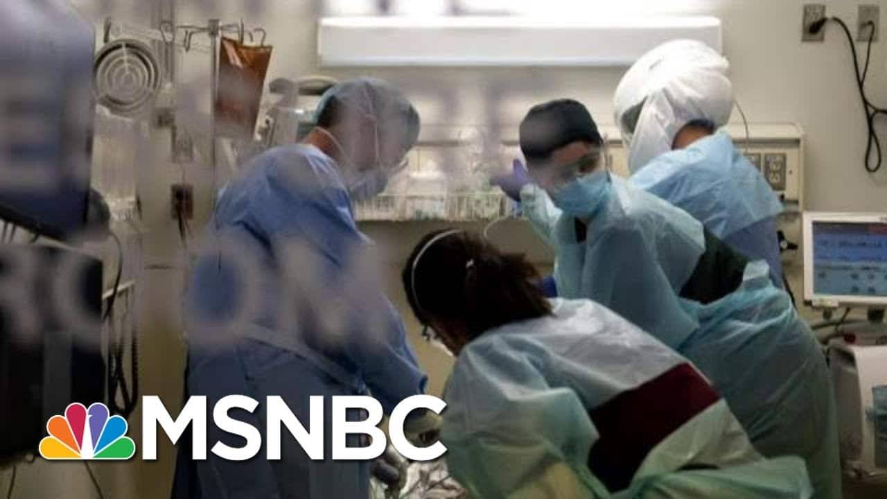 Dr. Mark Morocco As California Plans To Impose Regional Stay-At-Home Orders | MTP Daily | MSNBC 9