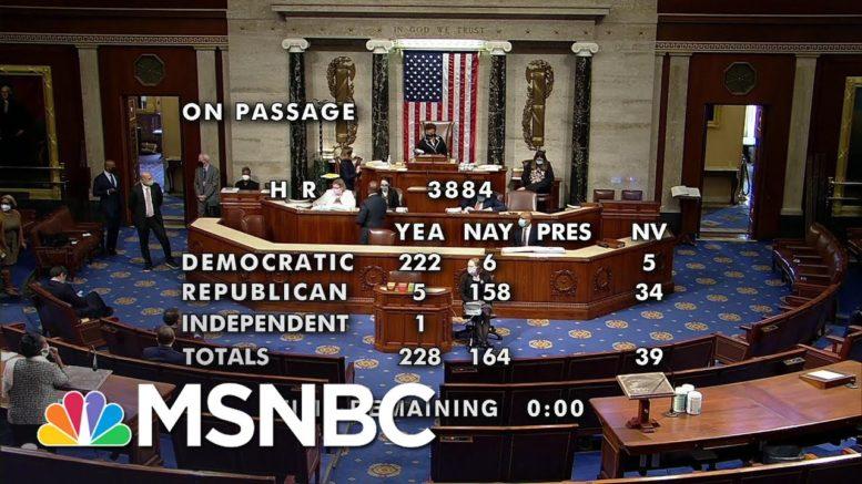 House Passes Bill To Decriminalize Marijuana | Katy Tur | MSNBC 1