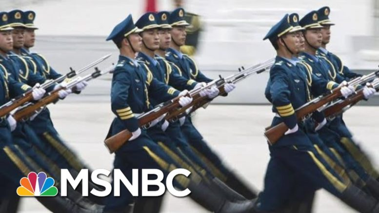 U.S. Official Says China Attempted To Create 'Super Soldiers' | Hallie Jackson | MSNBC 1