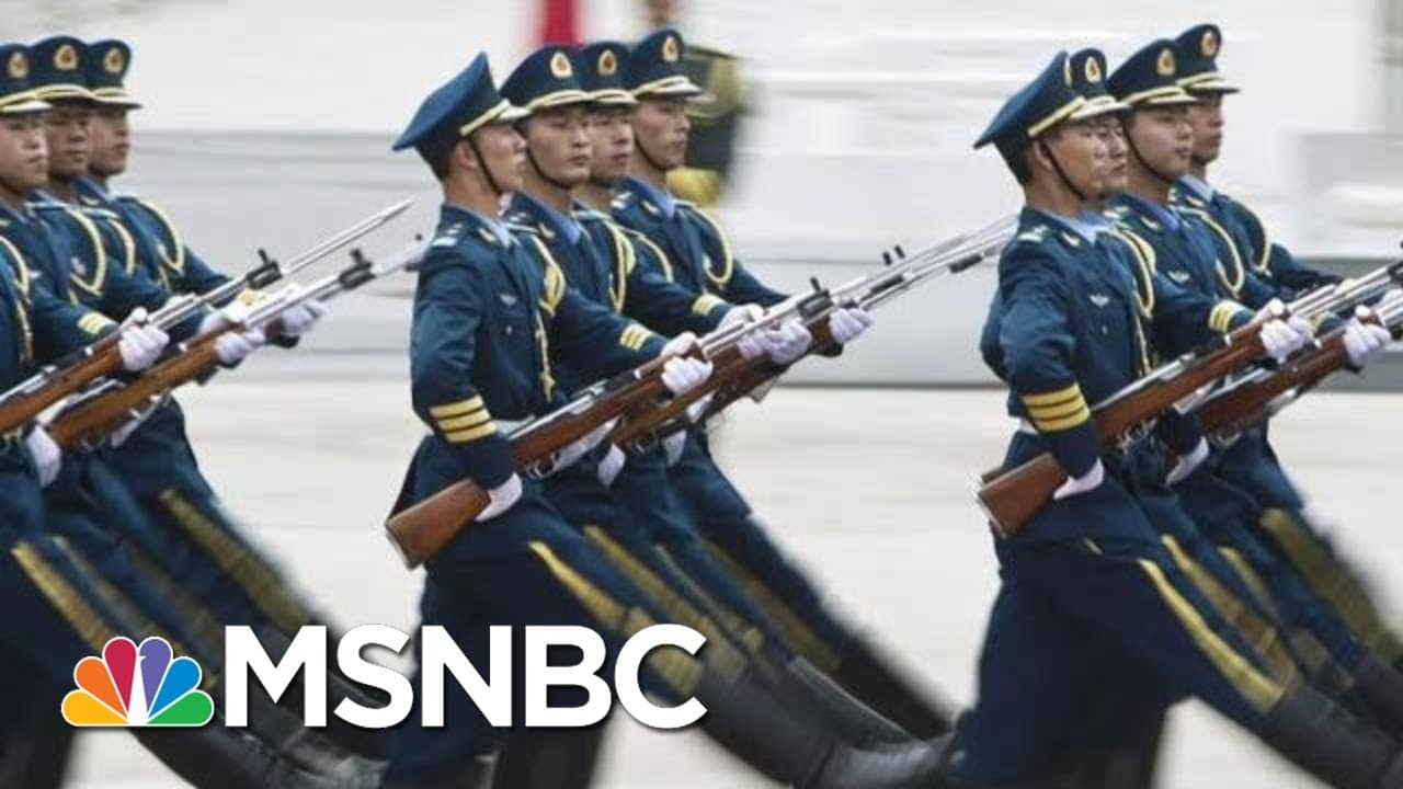 U.S. Official Says China Attempted To Create 'Super Soldiers'   Hallie Jackson   MSNBC 1