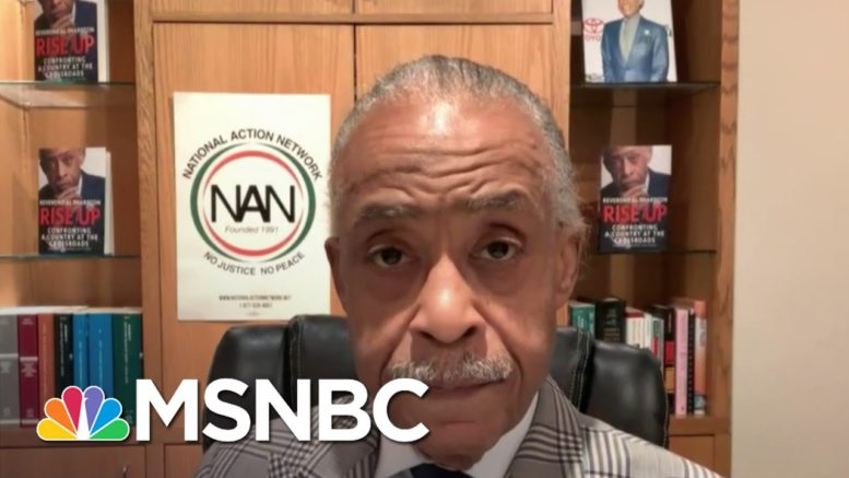 Sharpton Says The Country Is Seeing 'A Culture War That's Been Inspired By The President'   Deadline 1