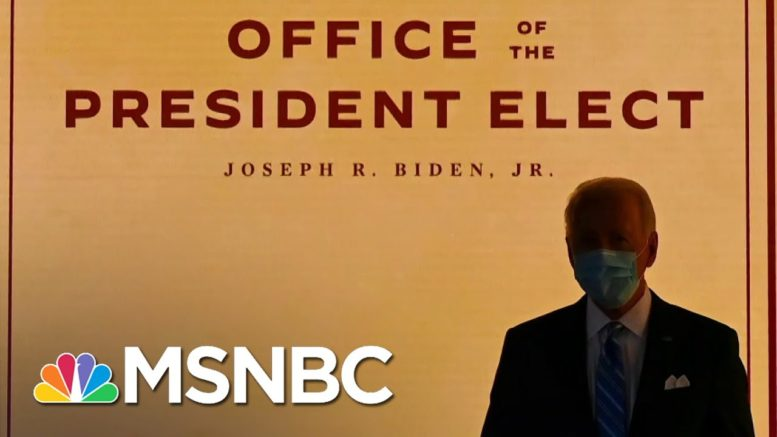 Biden 'Blitz:' The Case For Flooding The Zone With Executive Orders On Day One | All In | MSNBC 1