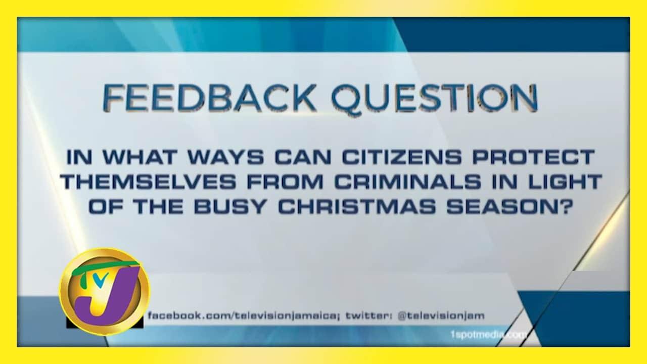 TVJ News: Feedback Question - December 3 2020 1