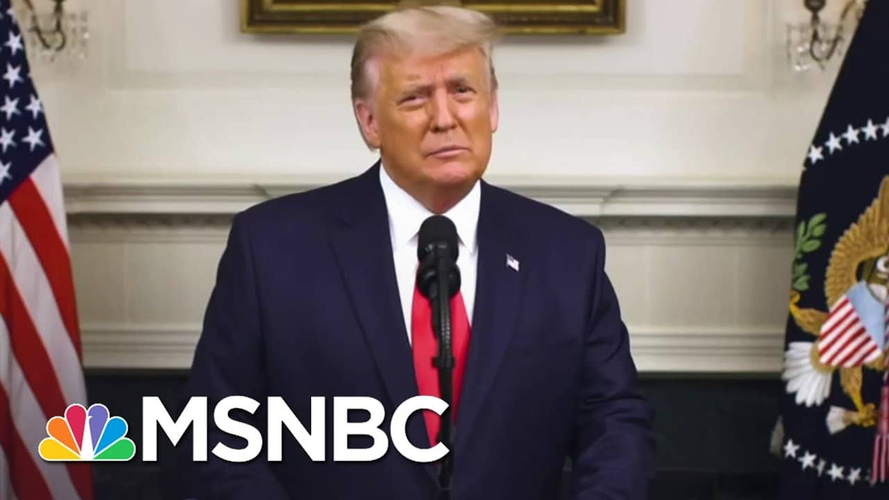 Trump Ignores Economy & Covid To Wage Failed War On Election | The 11th Hour | MSNBC 1