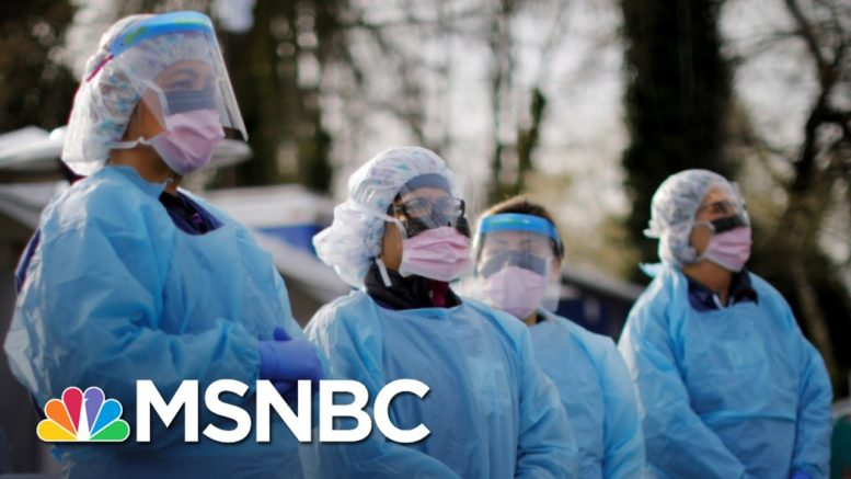 Strained Health Care Workers Plead For Americans To Wear Masks   The 11th Hour   MSNBC 1