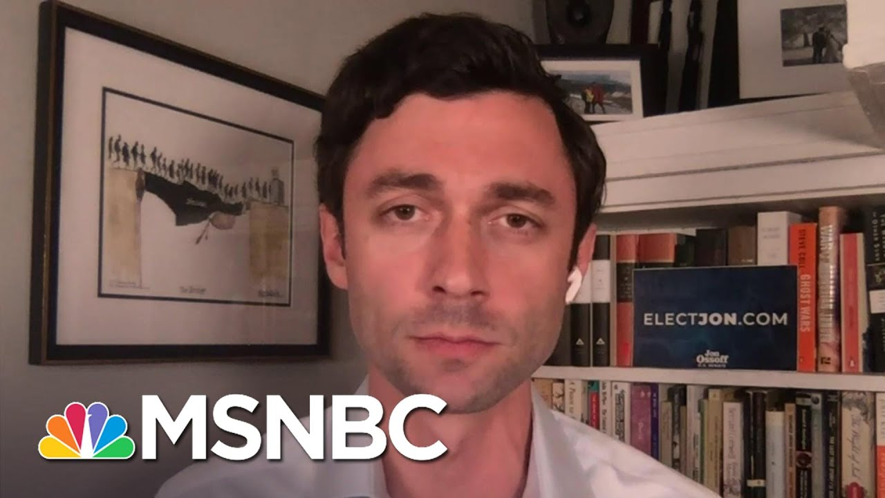 Jon Ossoff: Government Paralysis During The Pandemic Is Untenable | The ReidOut | MSNBC 1