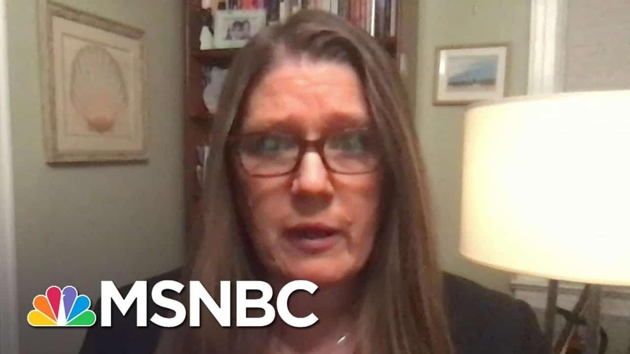 Mary Trump: Trump Wouldn't Be Considering Family Pardons 'If There Weren't A There There'   MSNBC 1