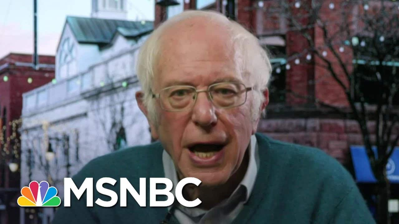Sen. Bernie Sanders: People Are Suffering 'In A Way We Have Not Seen Since The Great Depression' 1