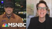 Velshi Talks with Maddow For The First Interview About Her New Book 'Bag Man' | MSNBC 2