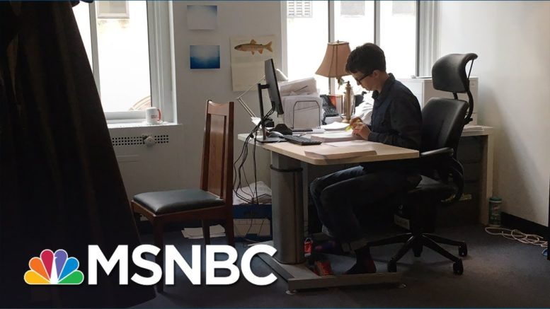 Always Put In The Work | The Rachel Maddow Show | MSNBC 1
