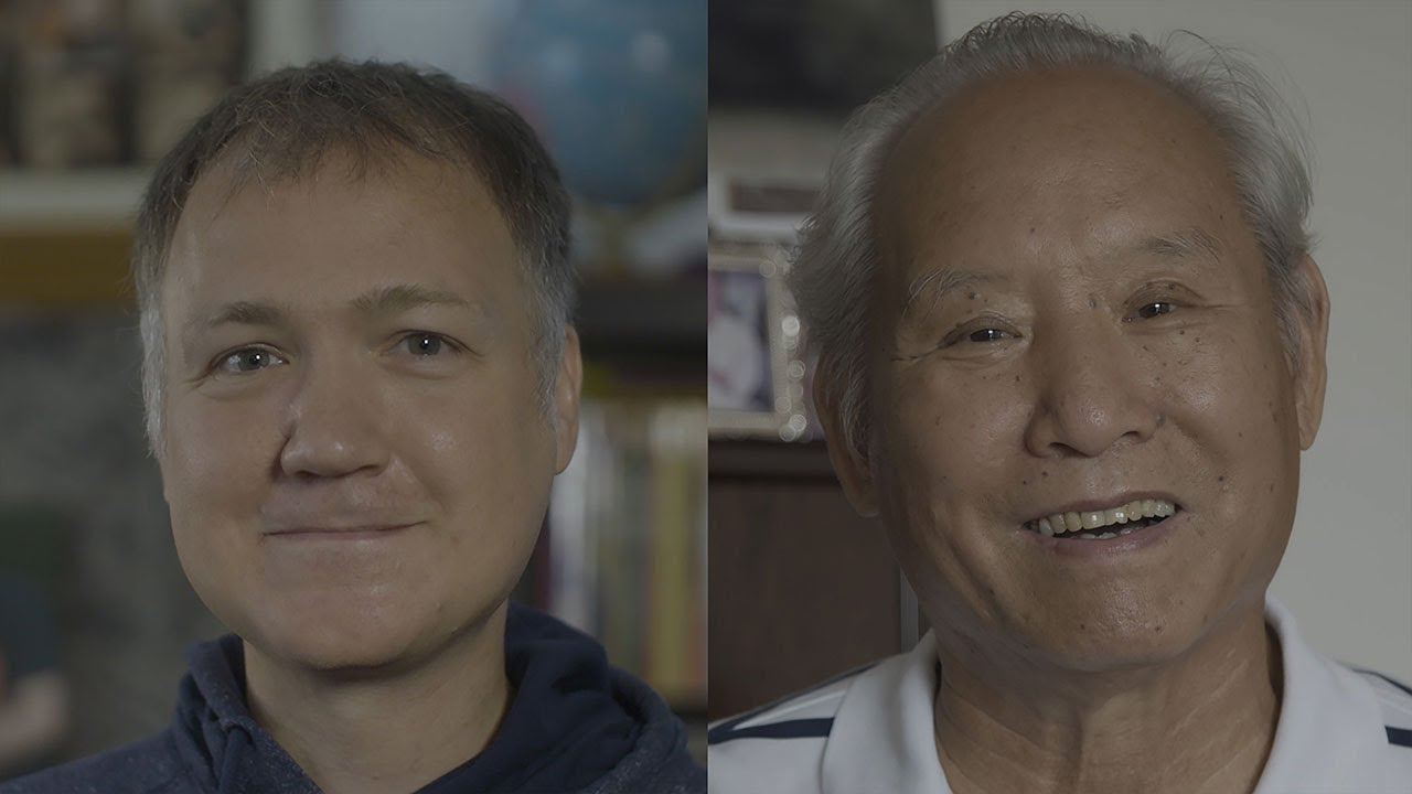 Me & my Chinese father-in-law   Encounters in China 1