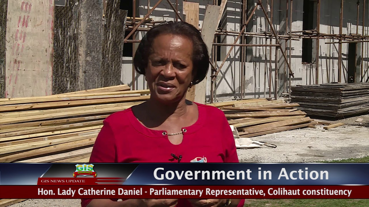 GOVERNMENT IN ACTION - Colihaut Health & Wellness Centre 1