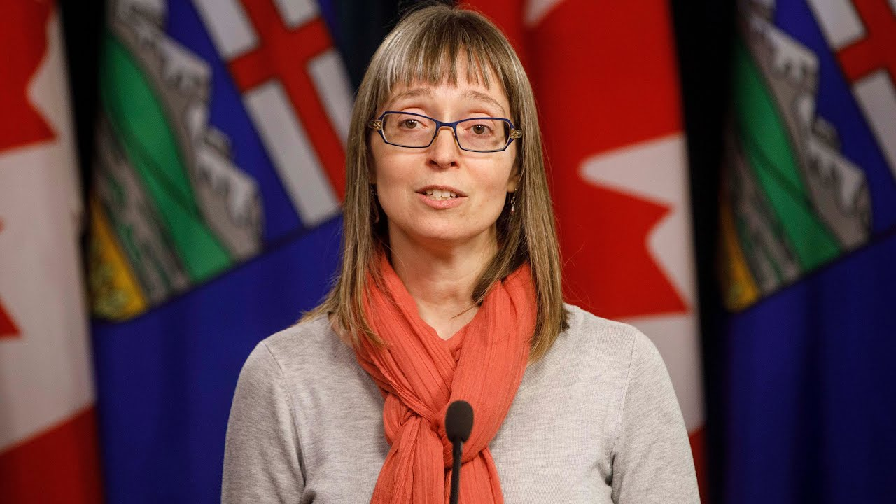 Hinshaw warns that Alberta is 'not bending the curve back down' 1