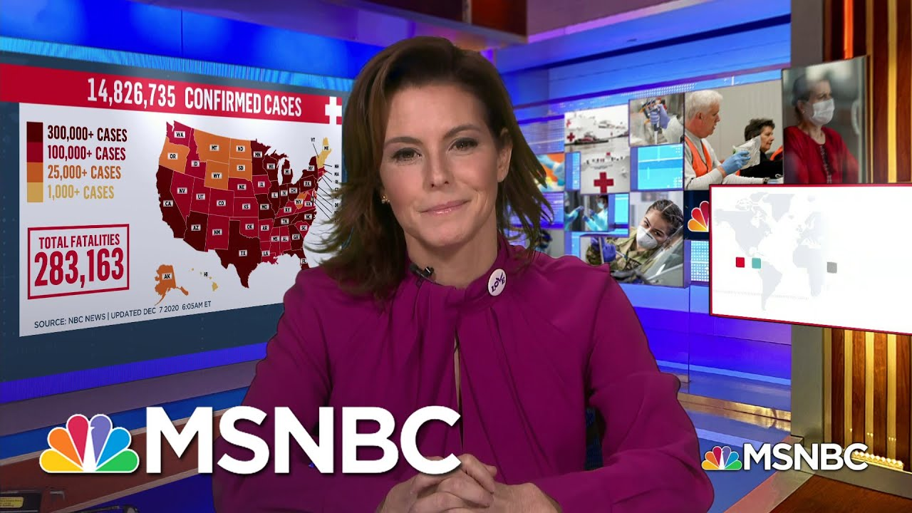 Stephanie Ruhle On COVID-19 Diagnosis: I Did All The Right Things, But I Still Got The Virus | MSNBC 1