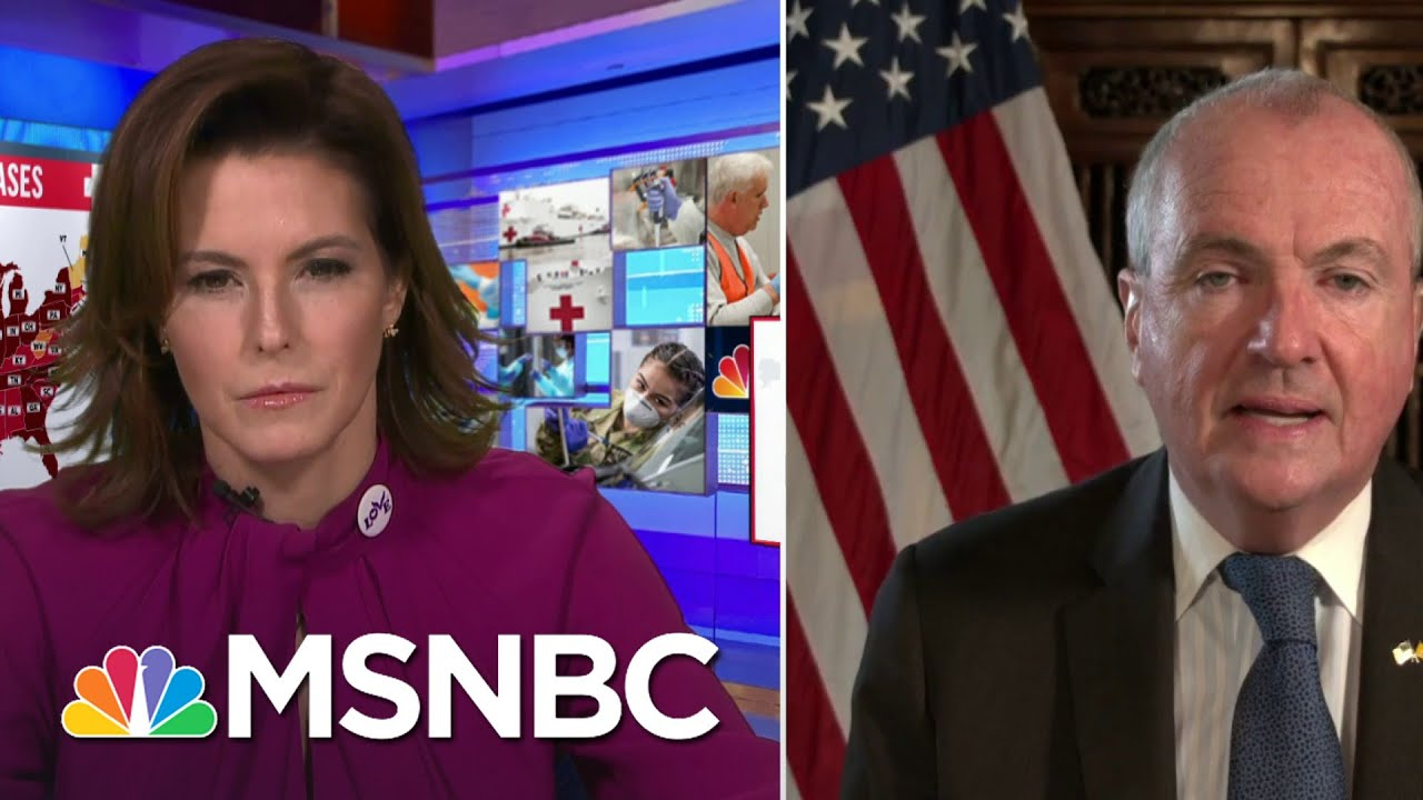 NJ Gov.: 'Our Biggest Challenge' Is In Living Rooms, Private Settings With Pandemic Fatigue   MSNBC 1