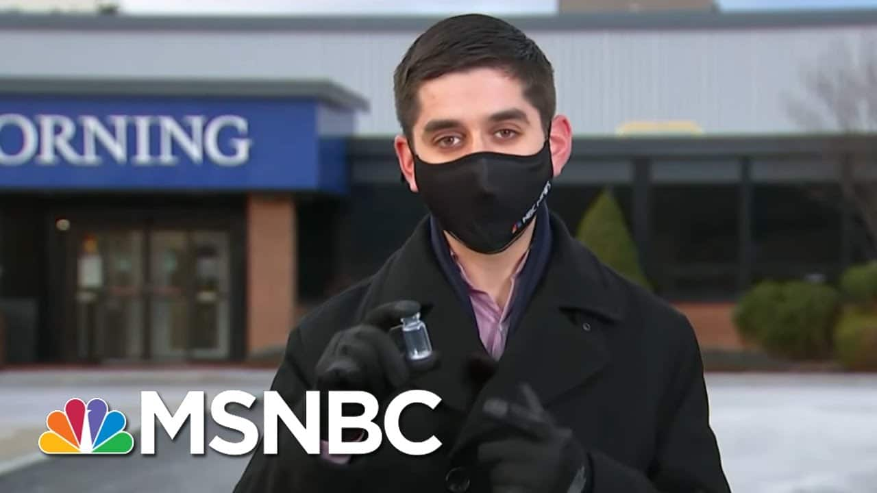 Inside The Race To Make Vials For The Coronavirus Vaccine In Upstate New York | MSNBC 6