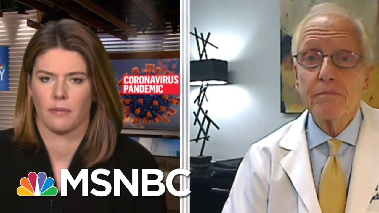Dr. Schaffner: Wearing A Mask 'Not Political. The Virus Doesn't Care' | MTP Daily | MSNBC 7