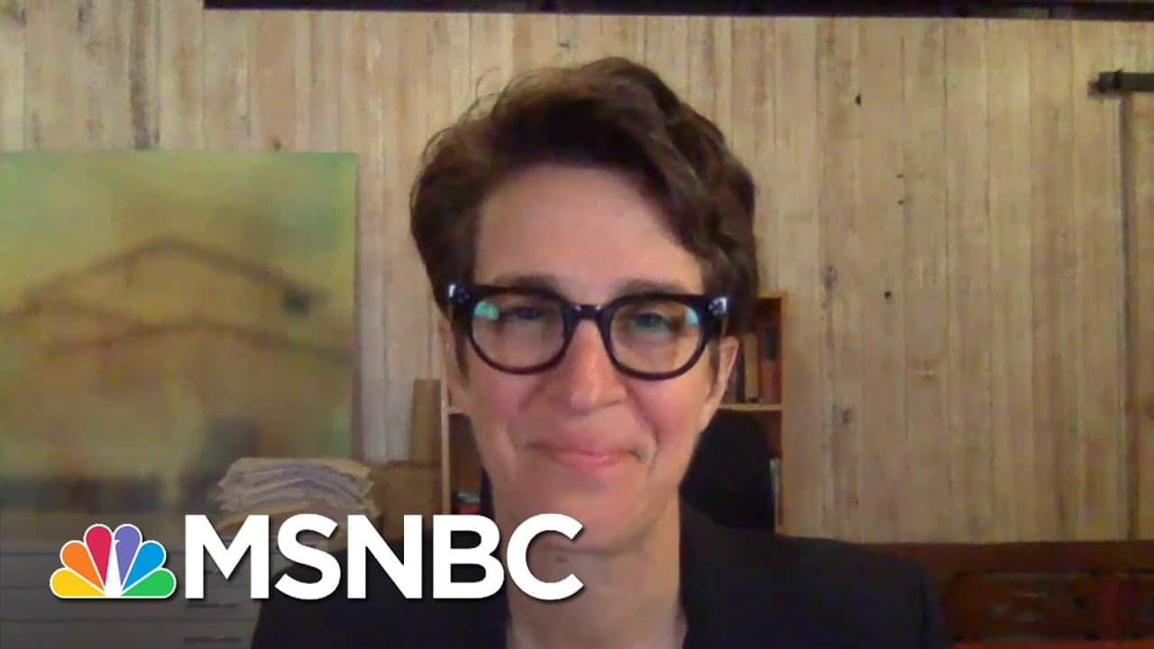 Rachel Maddow 'Will Never Be The Same' After Her Partner Susan Battled Covid   Deadline   MSNBC 1