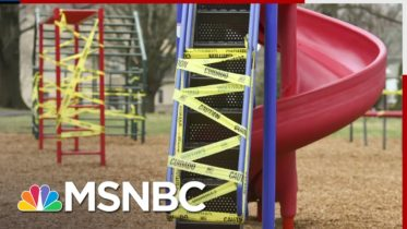 Los Angeles Closes Playgrounds, Outdoor Dining While Allowing Filming To Continue | All In | MSNBC 6