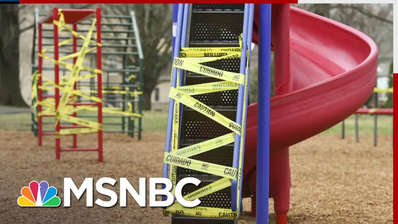 Los Angeles Closes Playgrounds, Outdoor Dining While Allowing Filming To Continue   All In   MSNBC 1