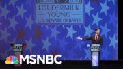 Empty Podium Had Better Georgia Debate Performance Than Loeffler | All In | MSNBC 3