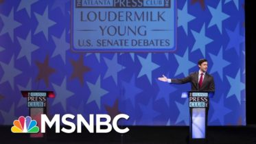 Empty Podium Had Better Georgia Debate Performance Than Loeffler | All In | MSNBC 6