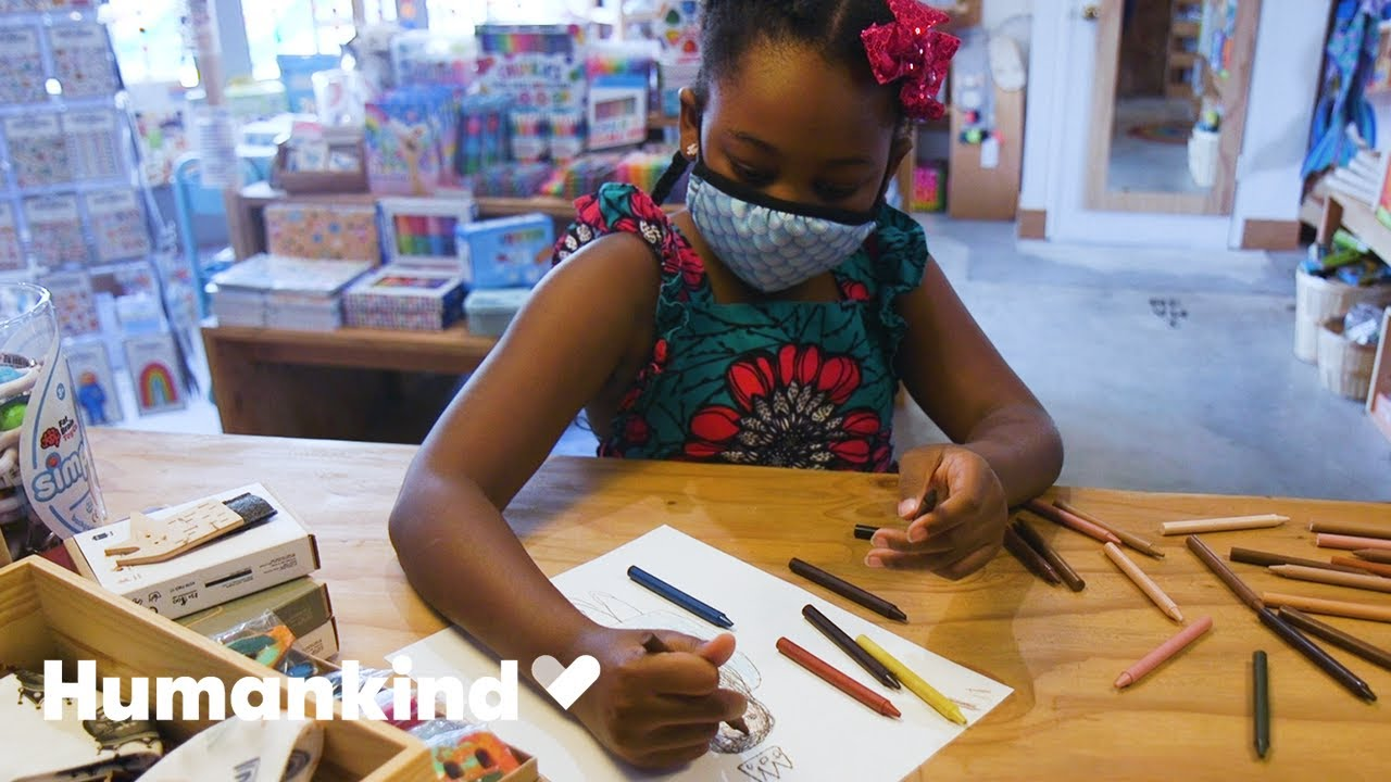 3rd grader creates multicultural crayons | Humankind 1