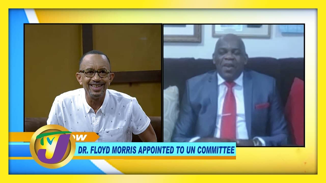 Dr. Floyd Morris Appointed to UN Committee - December 4 2020 1
