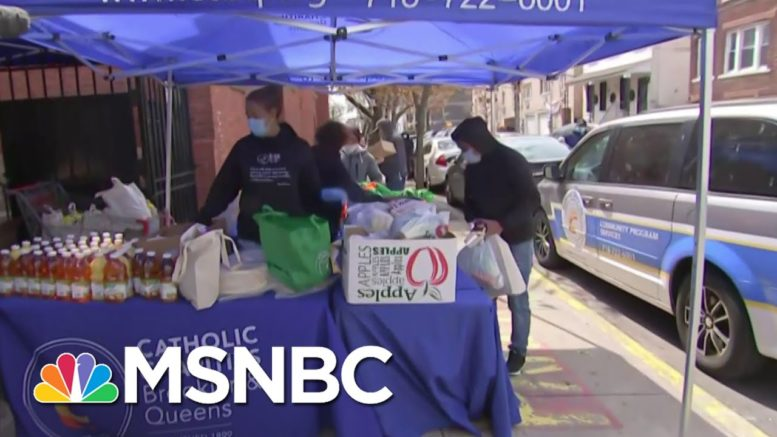 How Catholic Charities Brooklyn, Queens Are Assisting Families In Need | Craig Melvin | MSNBC 1