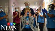 90-year-old receives first Pfizer vaccine in U.K. 2