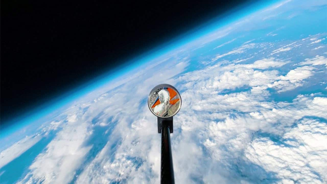 Space oddity: Royal Mint launches new Bowie coin into space 1
