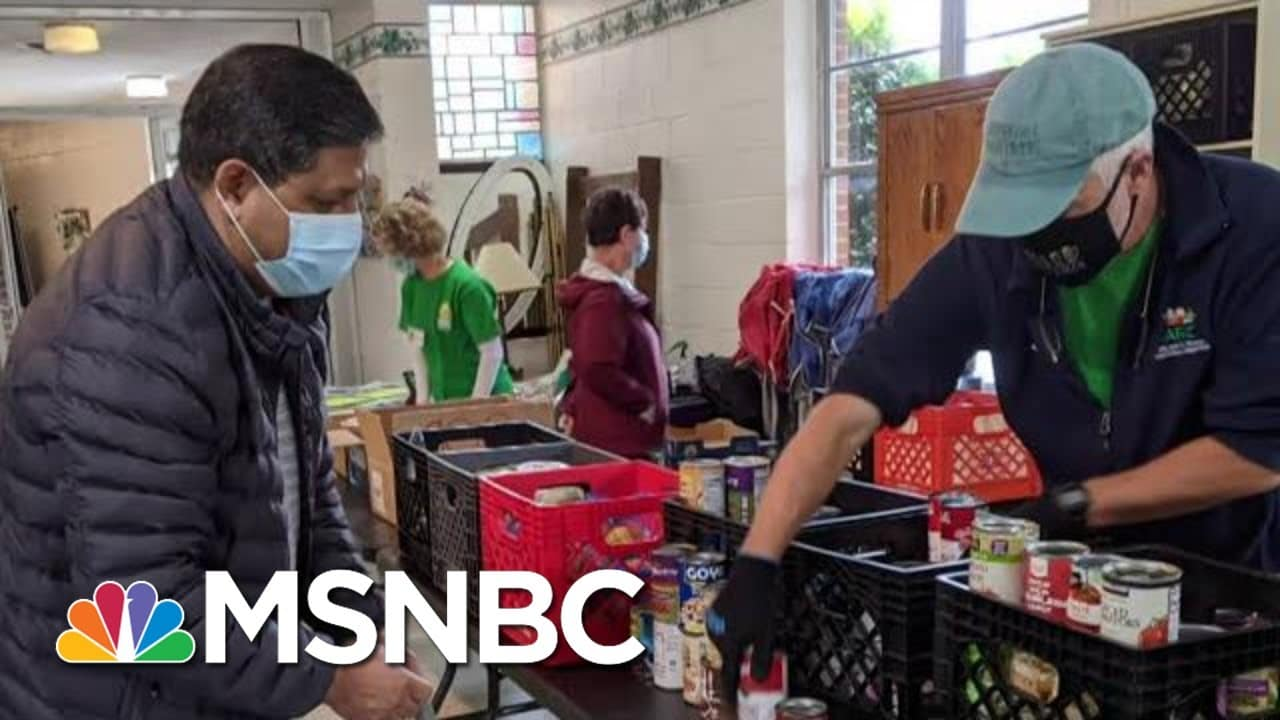 Giving Tuesday: Hunger Rates Surge During Pandemic | MTP Daily | MSNBC 1