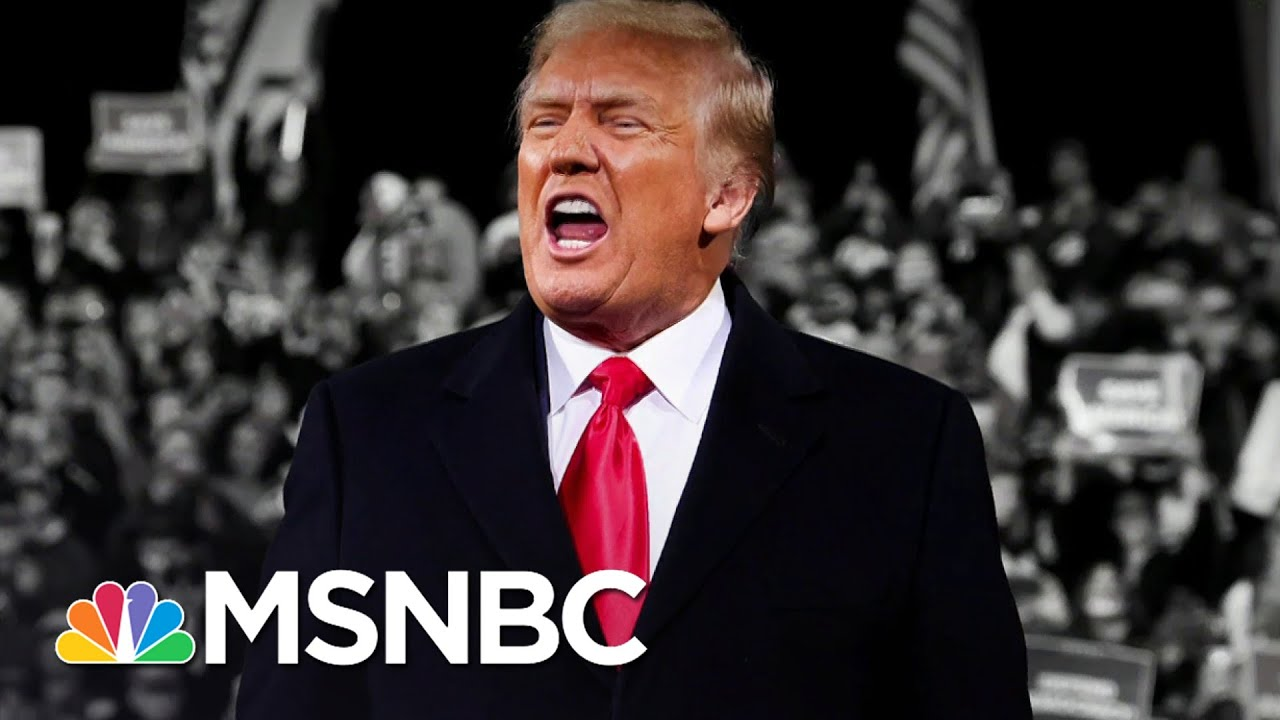 Trump Brags He's Working Hard On Election Attacks (Not Covid-19) | The 11th Hour | MSNBC 1