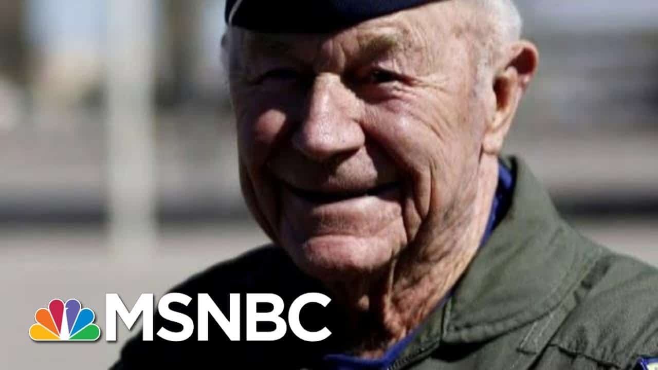 Chuck Yeager, Air Force Officer Who Broke Speed Of Sound, Dies At 97   Morning Joe   MSNBC 1