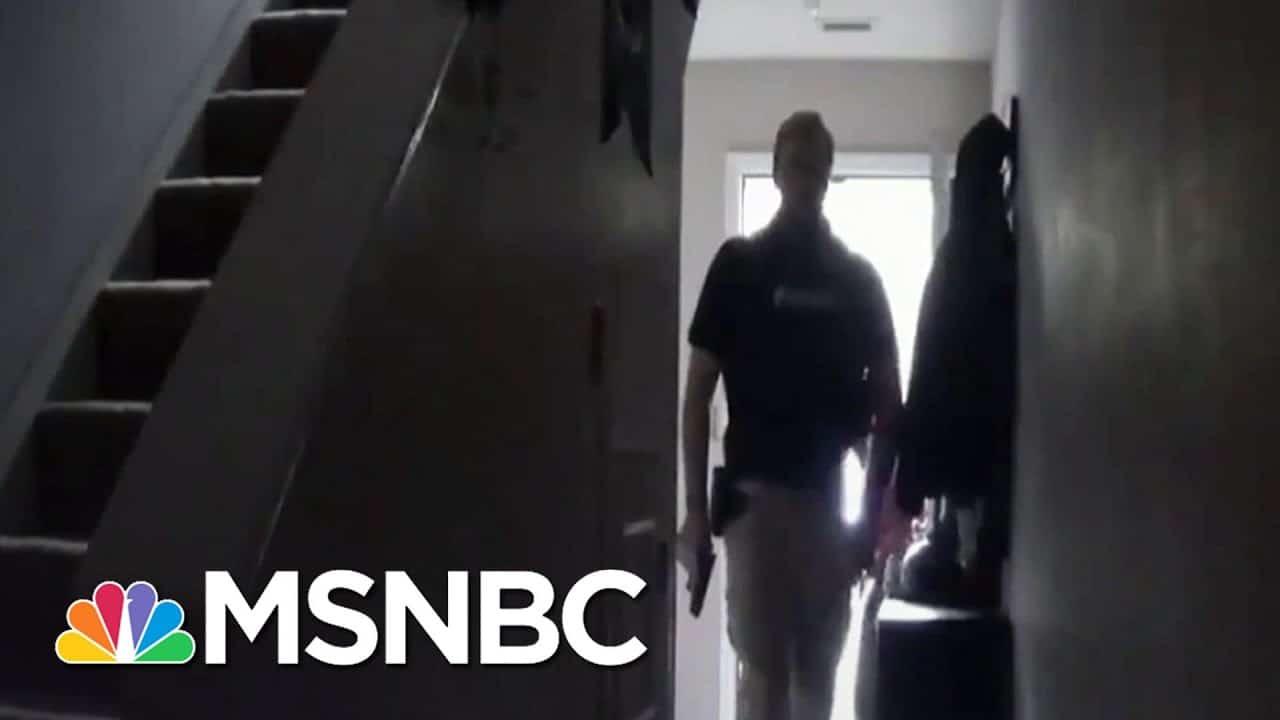 Home Of Former Florida Health Official Rebekah Jones Raided By Police   Stephanie Ruhle   MSNBC 1