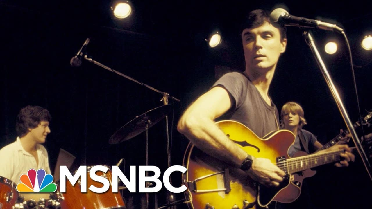 Icon David Byrne On Why The Talking Heads Aren't Getting Back Together | Mavericks With Ari Melber 1