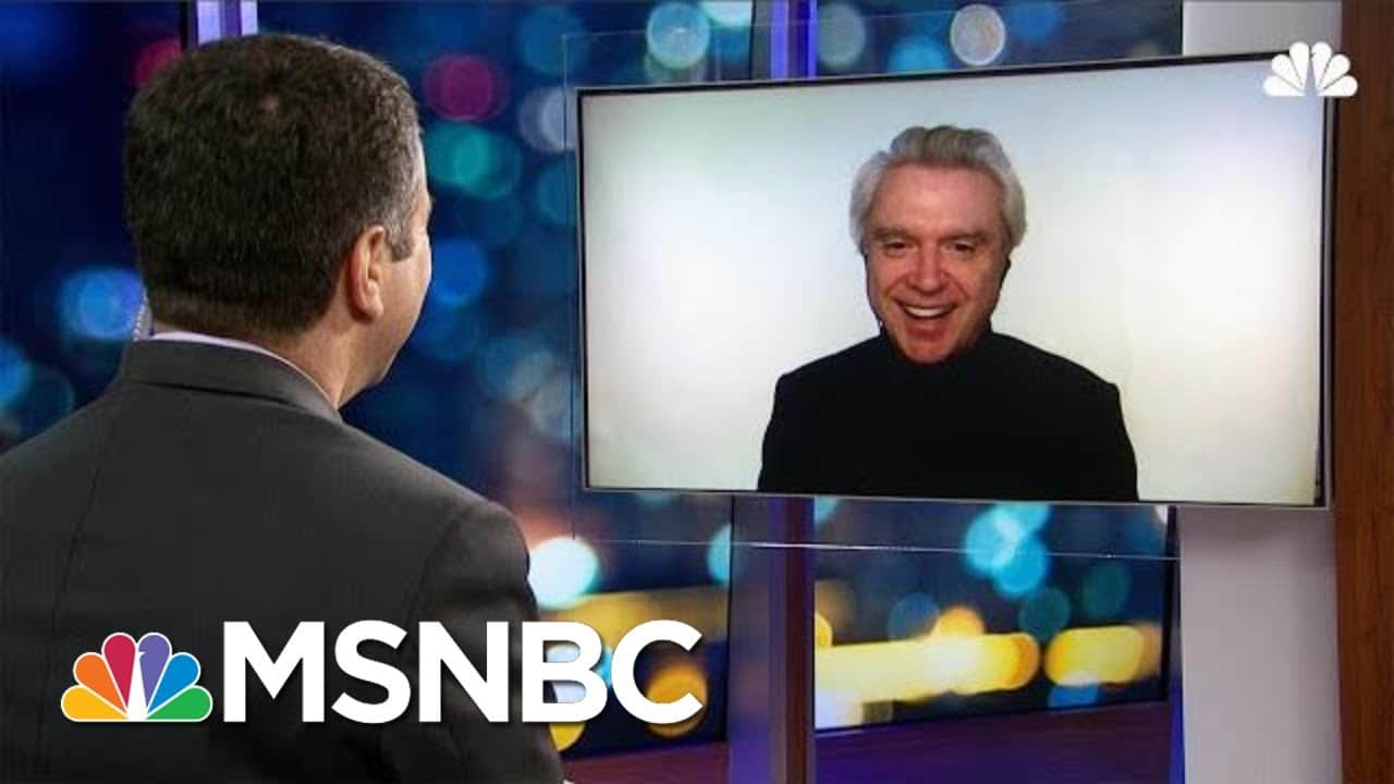 David Byrne On Protest Music, Creativity And Fans Craving A Talking Heads Reunion | MSNBC 1