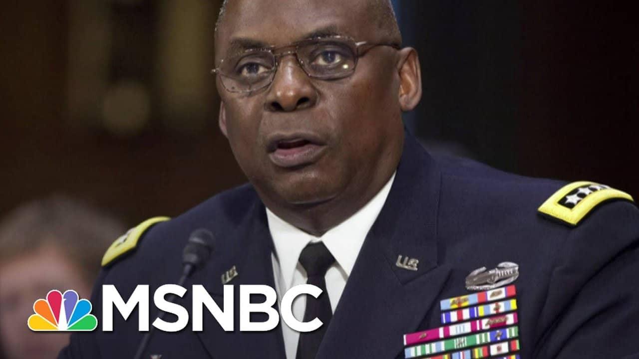 Gen. Mccaffrey: Biden's Nominee For Defense Secretary Will Serve To 'Help End The Chaos'   Deadline 3