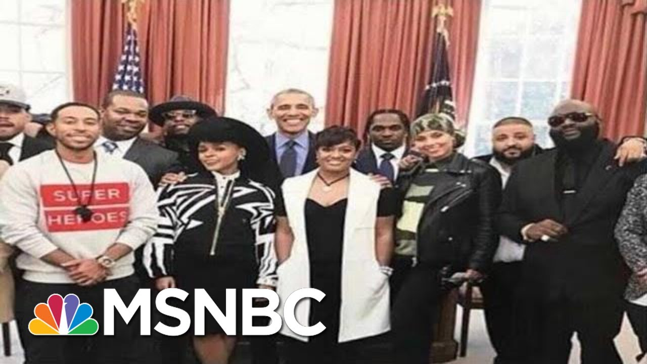 As Trump Era Ends, Rick Ross On Path To Obama WH, MSNBC Quotes And Jay-Z link | MSNBC Dig. Excl. 6